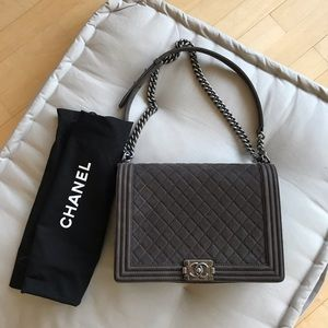 Chanel Boy Bag, Large